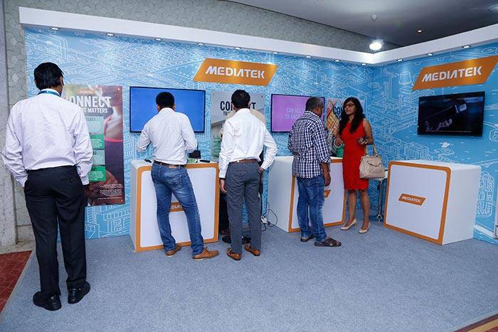 MediaTek Booth at the India IoT Summit 2016