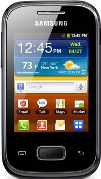 Review: Samsung Galaxy pocket - Good package small size